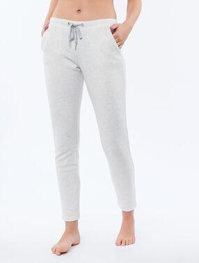 Spodnie legginsy ecru chine.