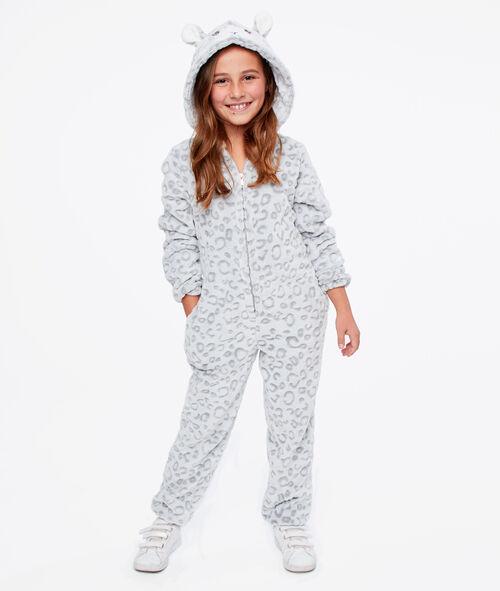 Kombinezon piżamka dla dzieci- pantera