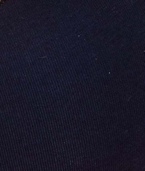 Biustonosz usztywniany w jednolitym kolorze uszyty z materiału o dużej zawartości bawełny, od miseczki B do D