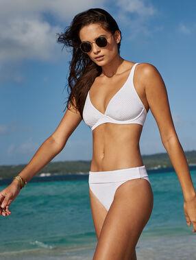Klasyczny dół bikini - wielopozycyjne blanc.