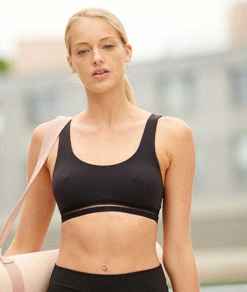 Biustonosz sportowy do jogi - mocne podtrzymanie