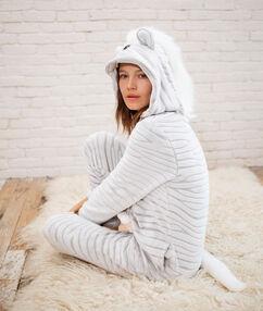 Kombinezon zebra gris.