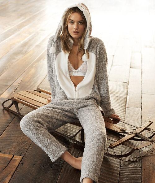 Kombinezon piżamowy sówka