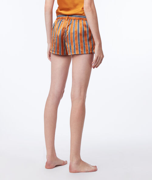 Szorty od piżamy w paski