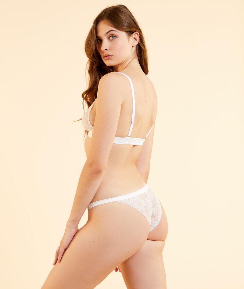 Majtki bikini z koronki;${refinementColor}