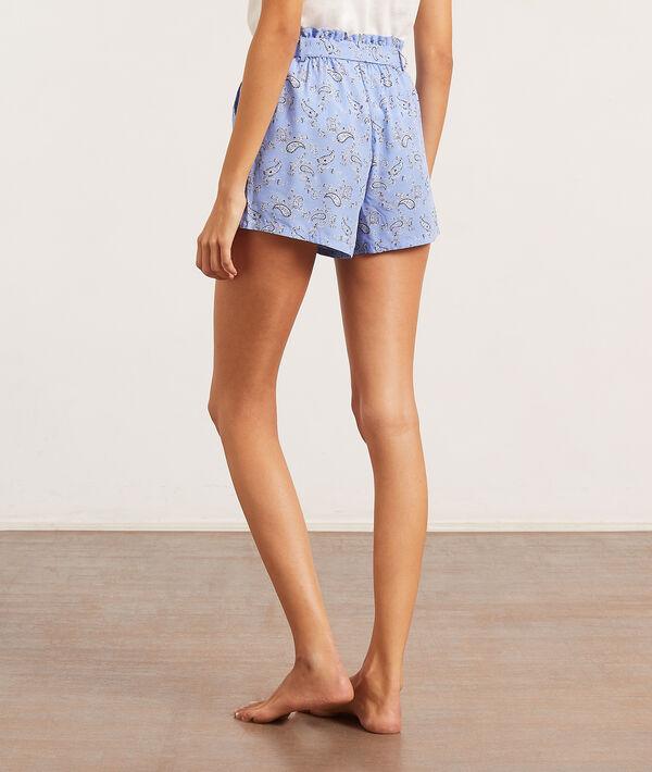 Spodenki od piżamy z apaszkowym nadrukiem;${refinementColor}