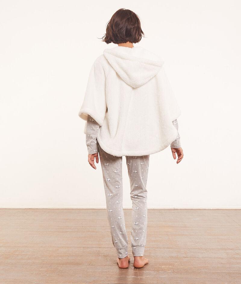 Piżama 3-częściowa z ponczo;${refinementColor}