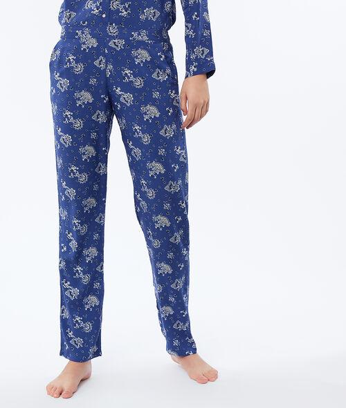 Spodnie w turecki deseń