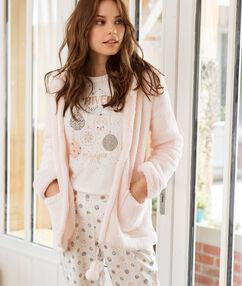 Piżama trzyczęściowa z napisem rose.