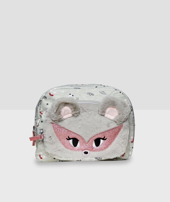 Kosmetyczka z uszami 3d gris.