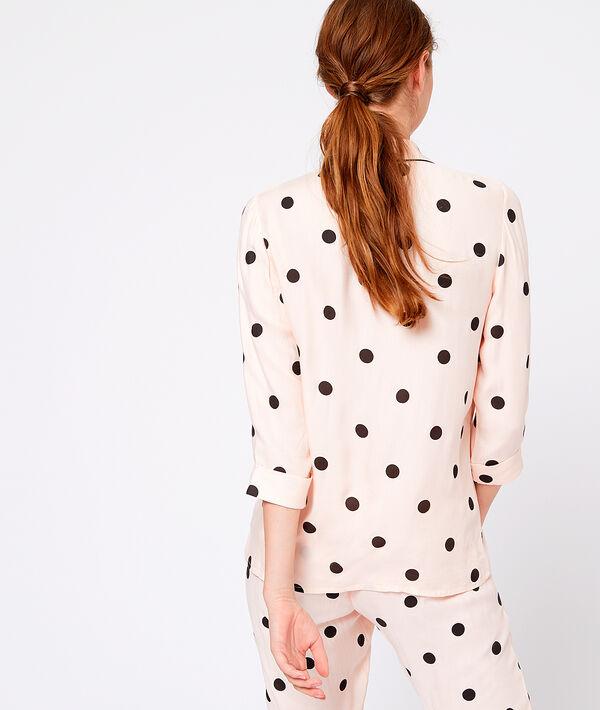 Koszula od piżamy w groszki