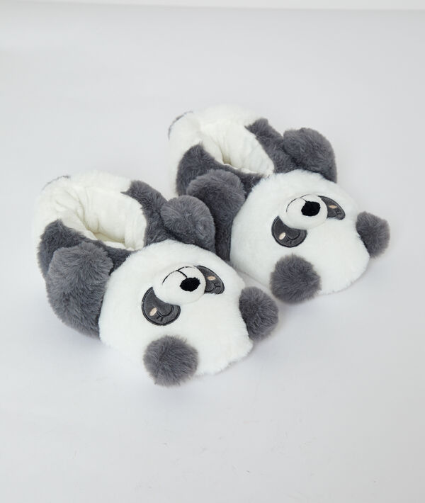 Kapcie misie panda 3D;${refinementColor}