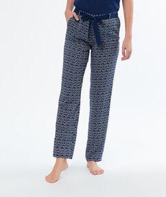 Spodnie od piżamy bleu.