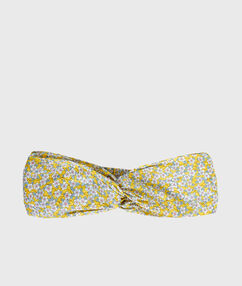 Opaska na głowę liberty jaune pâle.