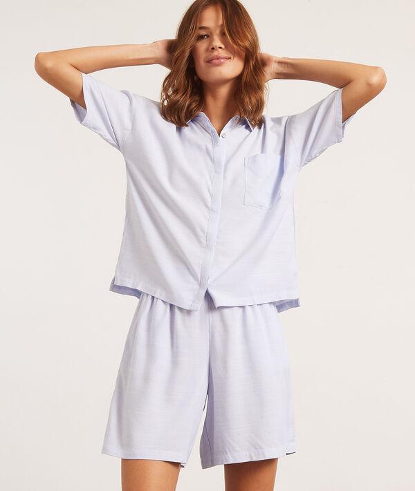 Koszula od piżamy z krótkimi rękawami;${refinementColor}