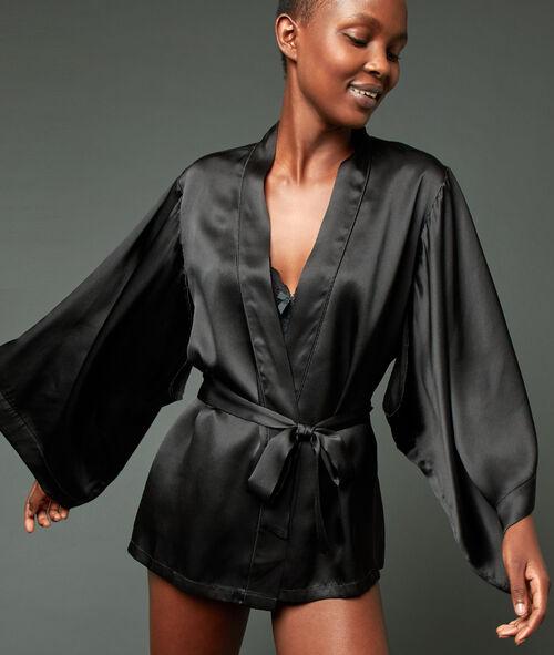 Szlafrok kimono 100% jedwabiu