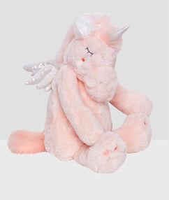 Maskotka-schowek na termofor lub piżamę jednorożec rose.
