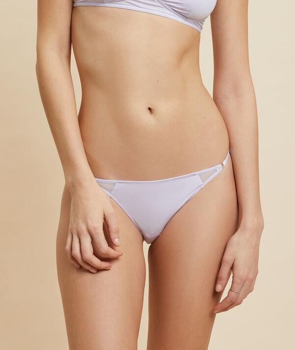 Bikini z mikrofibry i koronki;${refinementColor}