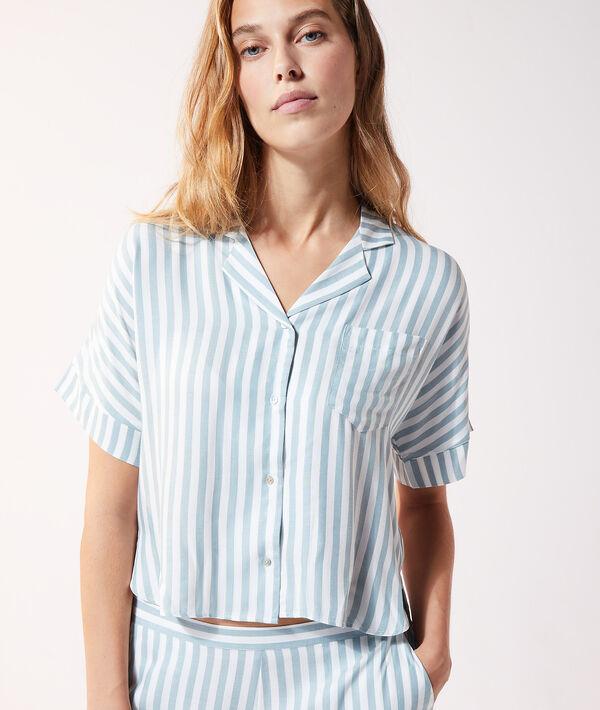 Koszula od piżamy w paski;${refinementColor}