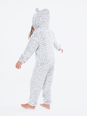 Kombinezon piżamka dla dzieci- pantera gris.
