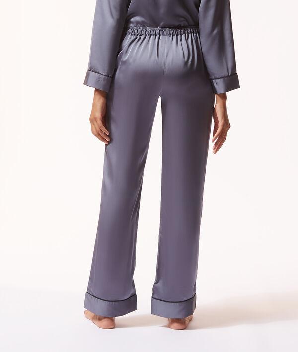 Satynowe spodnie od piżamy;${refinementColor}