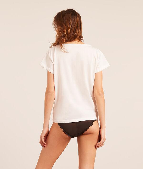 T-shirt z nadrukiem 'off';${refinementColor}