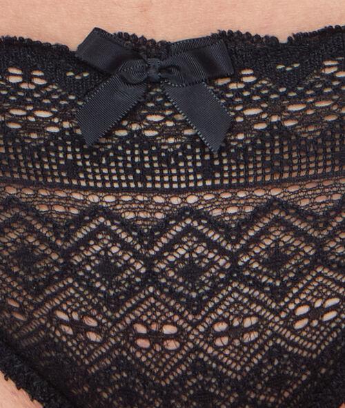 Koronkowe majtki