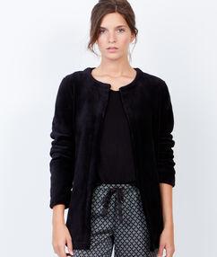 Przytulna bluza czarny.
