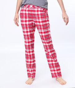 Spodnie w kratkę rouge.