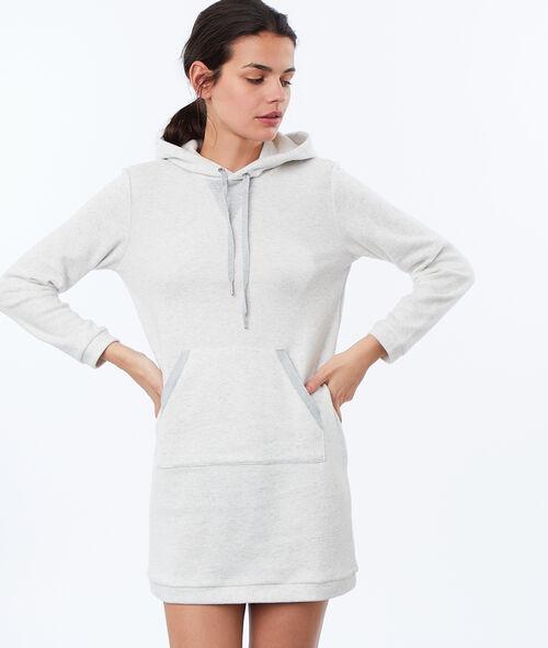 Koszula nocna homewear z moltonu