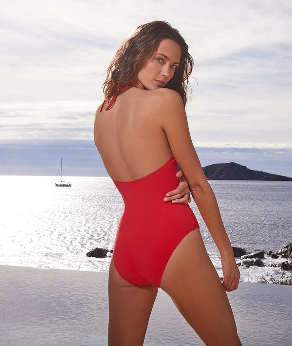 Jednoczęściowy kostium kąpielowy bez fiszbin;${refinementColor}