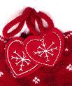 Skarpetki kapcie z nadrukiem świątecznym