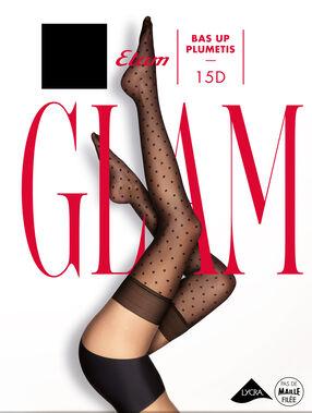 Pończochy glamour noir.