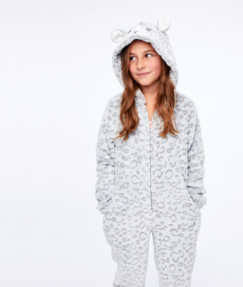 Kombinezon piżamka dla dzieci- pantera;${refinementColor}