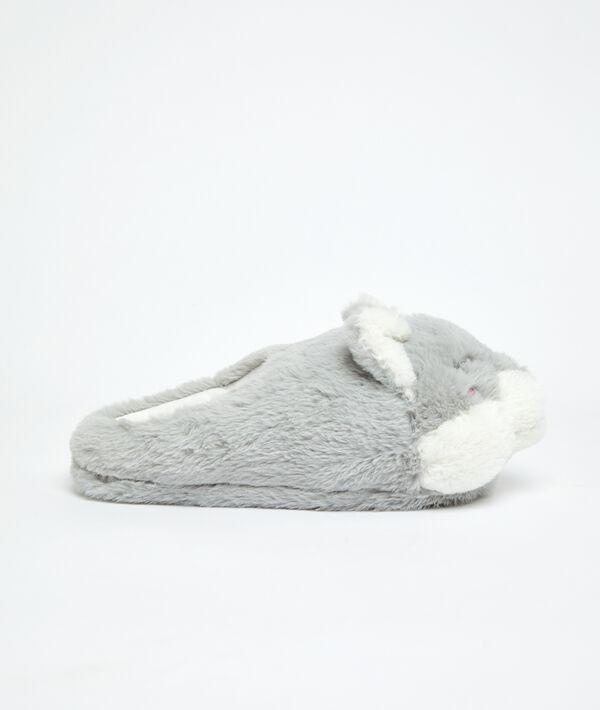 Kapcie 3D wilczki