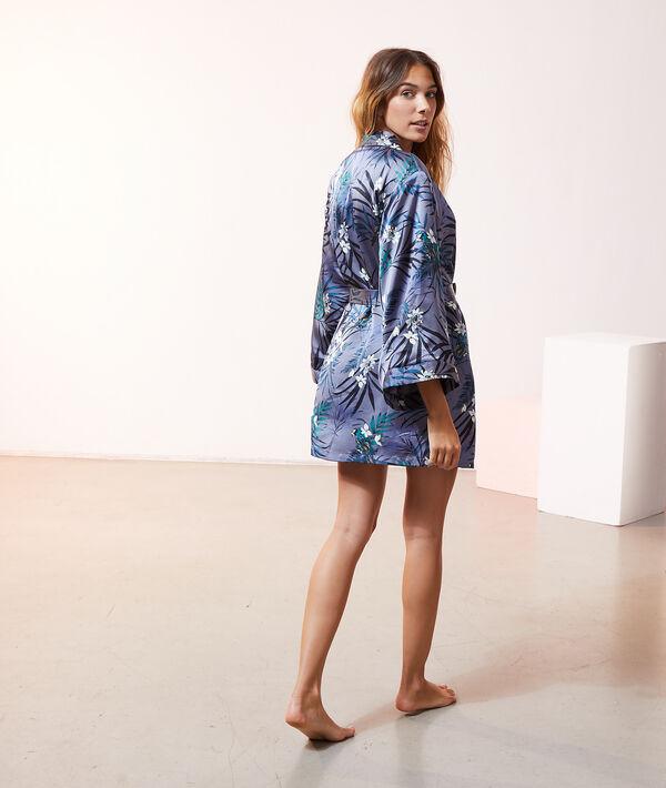 Kimono z kwiatowym nadrukiem;${refinementColor}