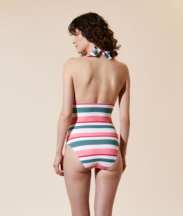 Jednoczęściowy kostium kąpielowy, wyjmowane poduszeczki;${refinementColor}