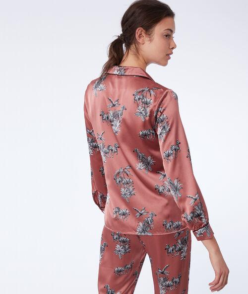 Koszula od piżamy w zebry