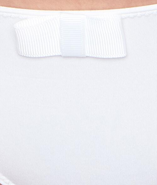 Koronkowe majtki z mikrofibry