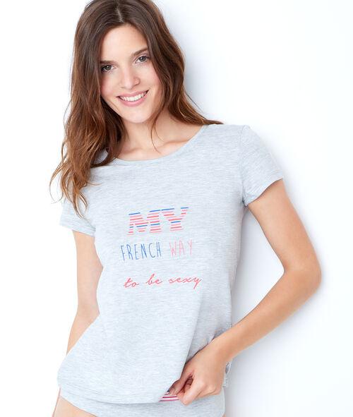 Koszulka z nadrukiem  My French way to be sexy