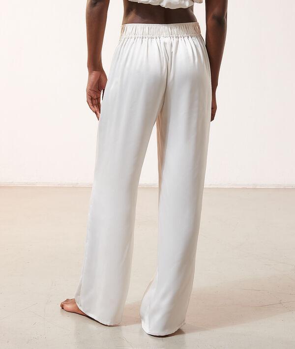 Spodnie z satynowym połyskiem;${refinementColor}
