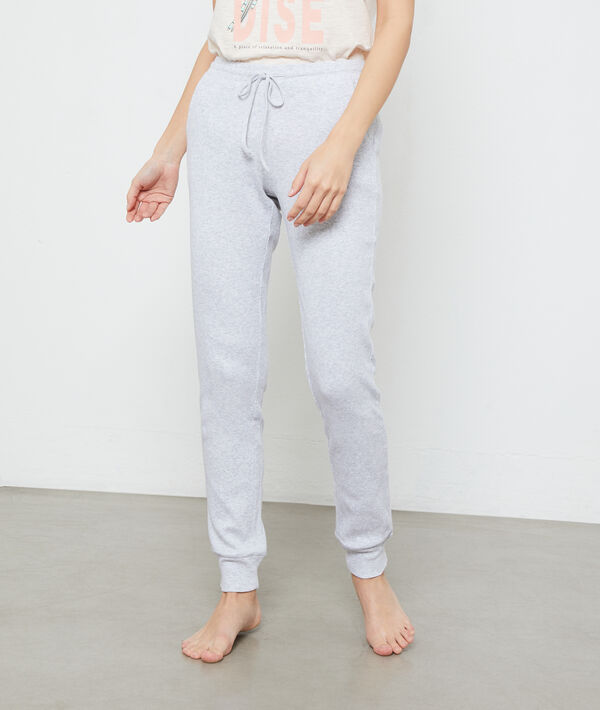 Spodnie z organicznej bawełny;${refinementColor}