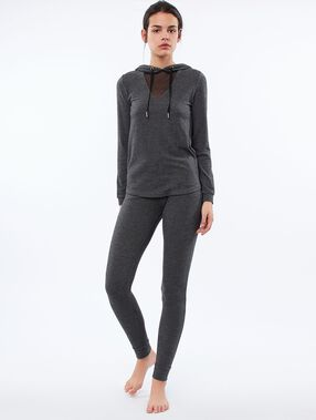 Spodnie legginsy homewear gris.