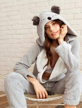 Combinaison koala gris.