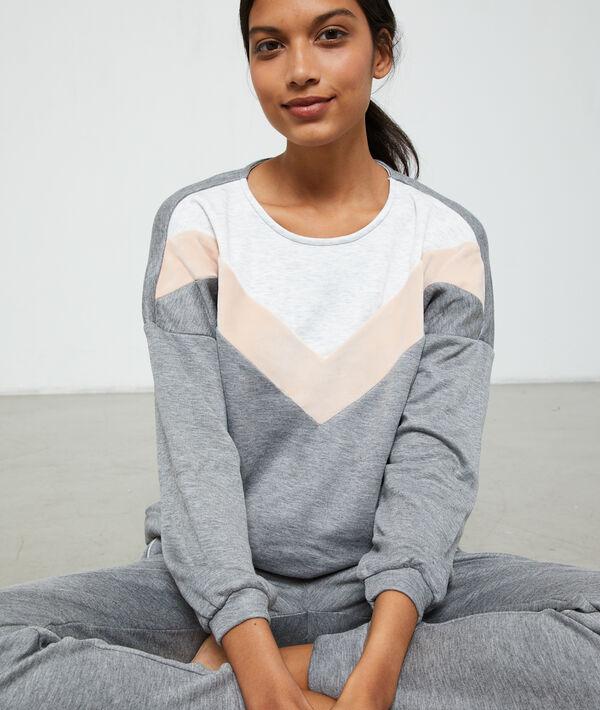 Graficzna bluza homewear