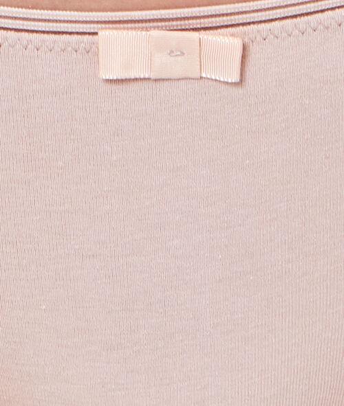 Biodrówki w jednolitym kolorze, ażurowa wstawka