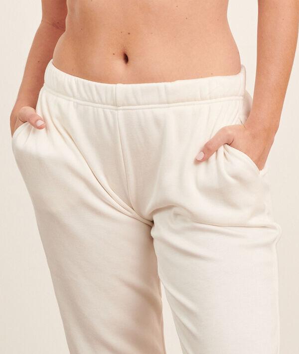 Spodnie w jednolitym kolorze;${refinementColor}