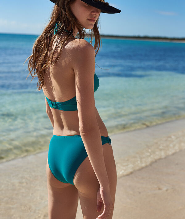 Klasyczny dół bikini, detale kółka