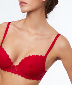 Biustonosz nr 1 - push up rouge.