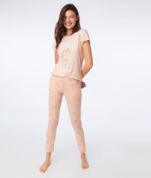 Spodnie z motywem kotka